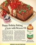 """""""Felices Fiestas cocinando más fácil con Wesson Oil"""""""