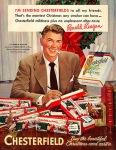 """""""Estoy enviando Chesterfield a todos mis amigos. Este es el mejor regalo que ningún fumador puede tener - La suavidad de Chesterfield no deja regusto desagradable"""""""