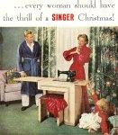 """""""¡Toda mujer deberia tener la emoción de una Navidad Singer!"""""""