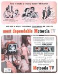"""""""Y para una Feliz Navidad en todos lados, ten por seguro que es más fiable una Motorola TV"""""""