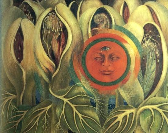 Sun and Life frida khalo